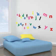 vinyl concept children s wall stickers nursery letters vinyl concept children s wall stickers nursery letters alphabet wall kids removable easy to remove kids wall stickers art mural art decor
