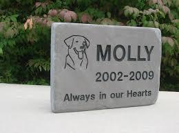headstones for dogs headstones pet tribute info