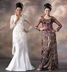 wedding dress batik bridal gown design kebaya batik wedding dresses