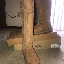 ugg s genevieve boot s ugg shoes the knee boots on poshmark