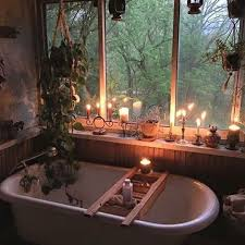 relaxing bathroom ideas bohemian home decor ideas hanging plant clutter and tubs