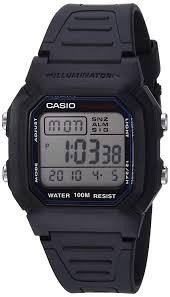 b and q kitchen design service amazon com casio men u0027s w800h 1av classic sport watch with black