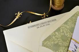wedding invitations return address parisian wedding invitation inspiration