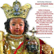 3rd sunday of january feast of santo niño or holy child jesus