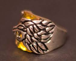 silver lion ring holder images Lion ring men etsy jpg