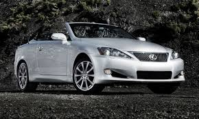 lexus models 2014 road test review 2014 lexus is250c f sport is top down