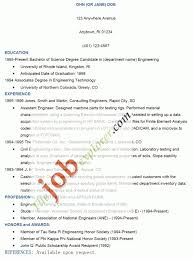 how to write a job resume examples resume example and free