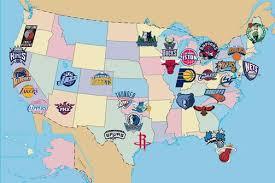map usa nba which team do you cheer for an nba fan map the new york times