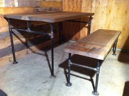 Diy Industrial Furniture by Potting Table Industrial Cast Iron Pipe Bench 498 00 Via Etsy