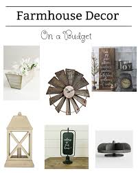 farmhouse decor on a budget for every room in your house