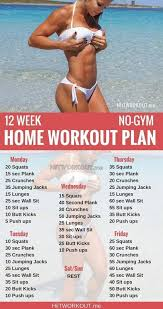 weight loss workout plan for men at home whether it s six pack abs gain muscle or weight loss this 12 week
