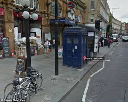 the doctor has landed google street view places the tardis