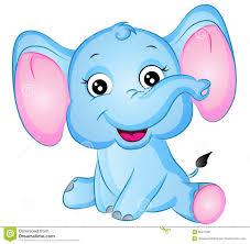 cartoon elephant vector illustration stock vector image 66547601