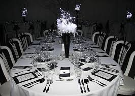 Black And White Ball Decoration Ideas Black And White Ball Party Ideas Pictures To Pin On Pinterest