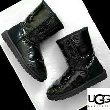 ugg slippers sale size 7 62 ugg shoes sale ugg boots black sheepskin patent leather