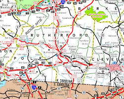 Nc Counties Map Rutherfordton On A Map Diagram Get Free Images About World Maps