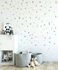 Baby Nursery Wall Decals Canada Polka Dot Decals Adorable And Totally Easy Polka Dot Wall Polka