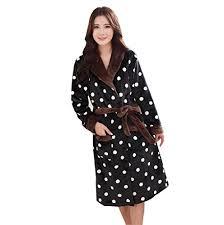 robe de chambre femme acmede peignoir femme flanelle sortie de bain luxe doux robe de