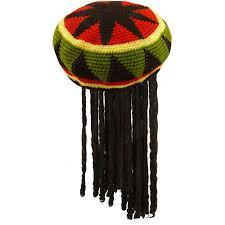jamaican hat with dreads the hat