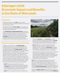 Wisconsin benefits of traveling images Enbridge 39 s economic impact on wisconsin enbridge inc jpg