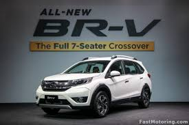 honda 7 seater car honda br v 7 seater crossover launched in malaysia