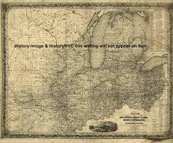 Ohio Railroad Map by Welcome To Historynyc Historical Maps Poster Books And Custom