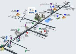 Banglore Metro Route Map by Salarpuria Sattva Divinity Official Website 1 2 And 3 Bhk