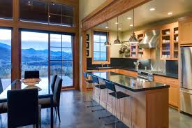 rustic glass kitchen cabinets 75 beautiful rustic kitchen with glass front cabinets