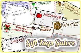 tags galore 18 tags for gifts from your kitchen