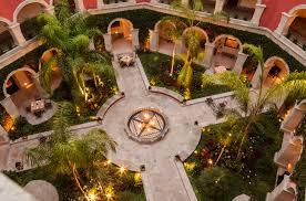 la casona patio rosewood san miguel de allende hospitality
