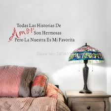 popular son quotes wall decal buy cheap son quotes wall decal lots amor son hermosas spanish love quote art vinyl wall decal sticker for living room bedroom decor