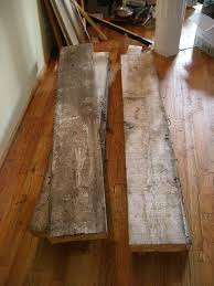 reclaimed wood table 5 steps with pictures