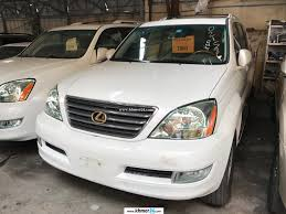 lexus gx470 pictures lexus gx 470 2003 pearl white full option new arrival in phnom