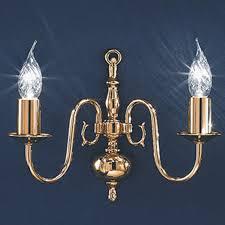 Delft Chandelier Franklite Delft Polished Brass 32 Light Ceiling Fitting