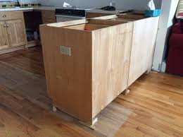 how to install peninsula kitchen cabinets how to finish end of kitchen peninsula