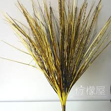 2017 beautiful decoration accessories gold grass reed