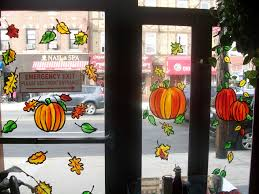 painting on glass windows thanksgiving window painting painting from life