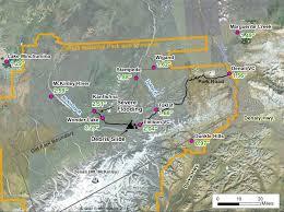 denali national park map severe flooding in alaska s denali national park weather extremes