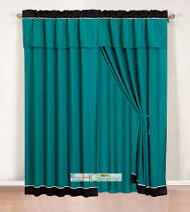 teal and black curtains education photography com