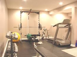 Decorating Home Gym Get Stunning Basement With Finish Basement Ideas Workout Rooms