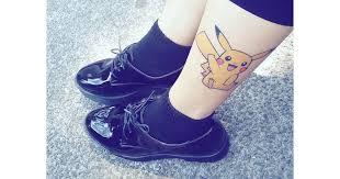 pokemon tattoo ideas popsugar australia tech