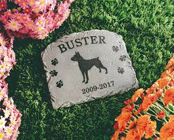 headstones for dogs personalized dog memorial walmart