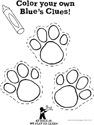 blues clues paw print free download clip art free clip art