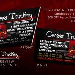 trucking business cards how to organize business cards 212