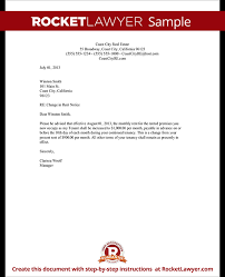 Rent Increase Letter Ma rent increase letter template rent increase notice rocket lawyer