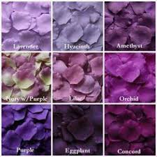 shades of dark purple dark purple silk rose petals 300 petals silk rose petals wedding