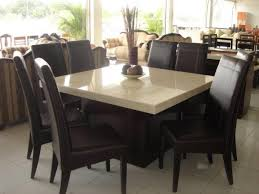 Square Dining Room Table Dining Room Table Popular 8 Person Square Dining Table Ideas