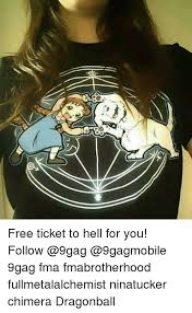 Fullmetal Alchemist Kink Meme - 25 best memes about tickets to hell tickets to hell memes