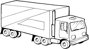 Free Preschool Coloring Pages Trucks Transportation Coloring