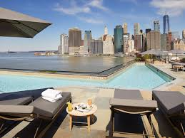 the best nyc hotels with rooftop and indoor pools